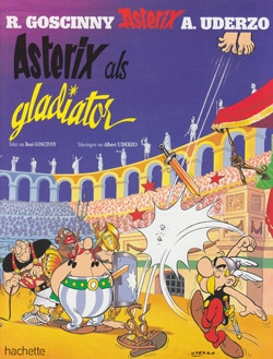 Asterix softcover, Asterix als gladiator.