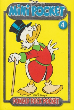 Donald Duck mini pocket nummer: 4.