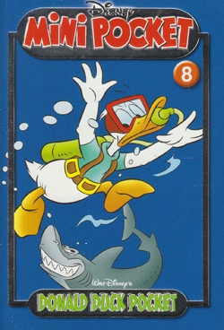 Donald Duck mini pocket nummer: 8.