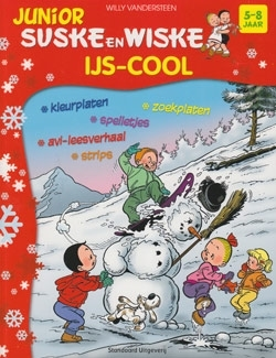 Junior Suske en Wiske softcover ijs-cool. (licht) beschadigd