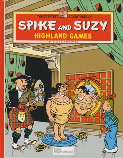 Spike and Suzy Hardcover Highland games.