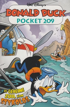 Donald Duck pocket softcover nummer: 209.