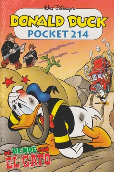 Donald Duck pocket softcover nummer: 214.