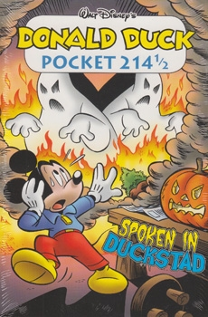 Donald Duck pocket softcover nummer: 214,5.