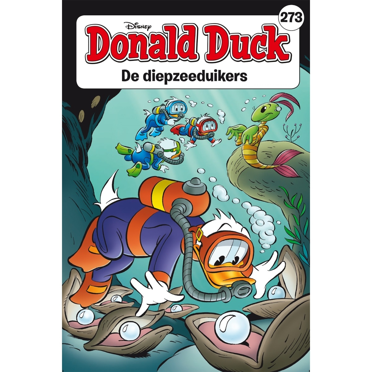 Donald Duck pocket softcover nummer: 273.