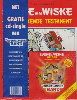 Suske en Wiske softcover nummer: 119 + CD-single helden.