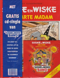Suske en Wiske softcover nummer: 140 + CD-single helden.