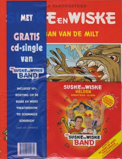 Suske en Wiske softcover nummer: 276 + CD-single helden.