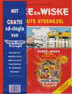 Suske en Wiske softcover nummer: 178 + CD-single helden.