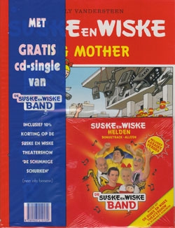 Suske en Wiske softcover nummer: 271 + CD-single helden.
