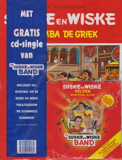 Suske en Wiske softcover nummer: 72 + CD-single helden.