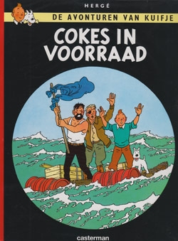 Kuifje softcover cokes in voorraad.