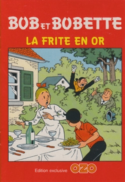 Franse A5 softcover uitgave La frite en or (OZO).