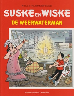 Softcover De weerwaterman.