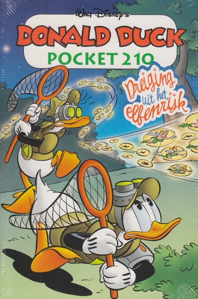 Donald Duck pocket softcover nummer: 210.