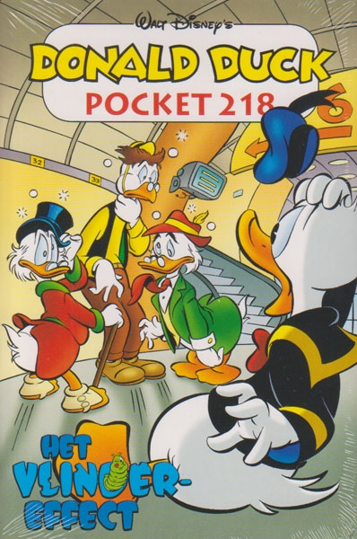 Donald Duck pocket softcover nummer: 218.