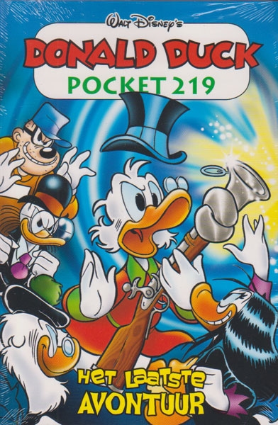 Donald Duck pocket softcover nummer: 219.