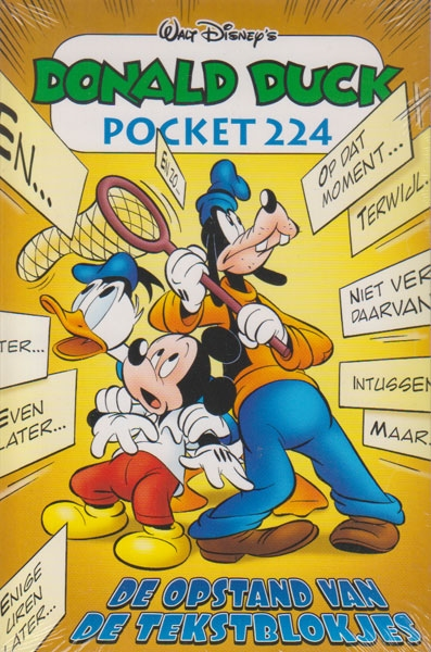 Donald Duck pocket softcover nummer: 224.