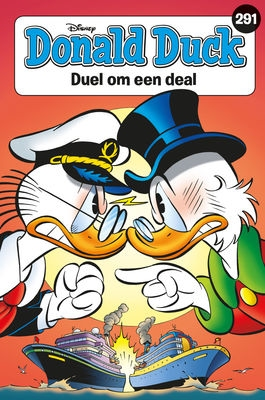 Donald Duck pocket softcover nummer: 291.