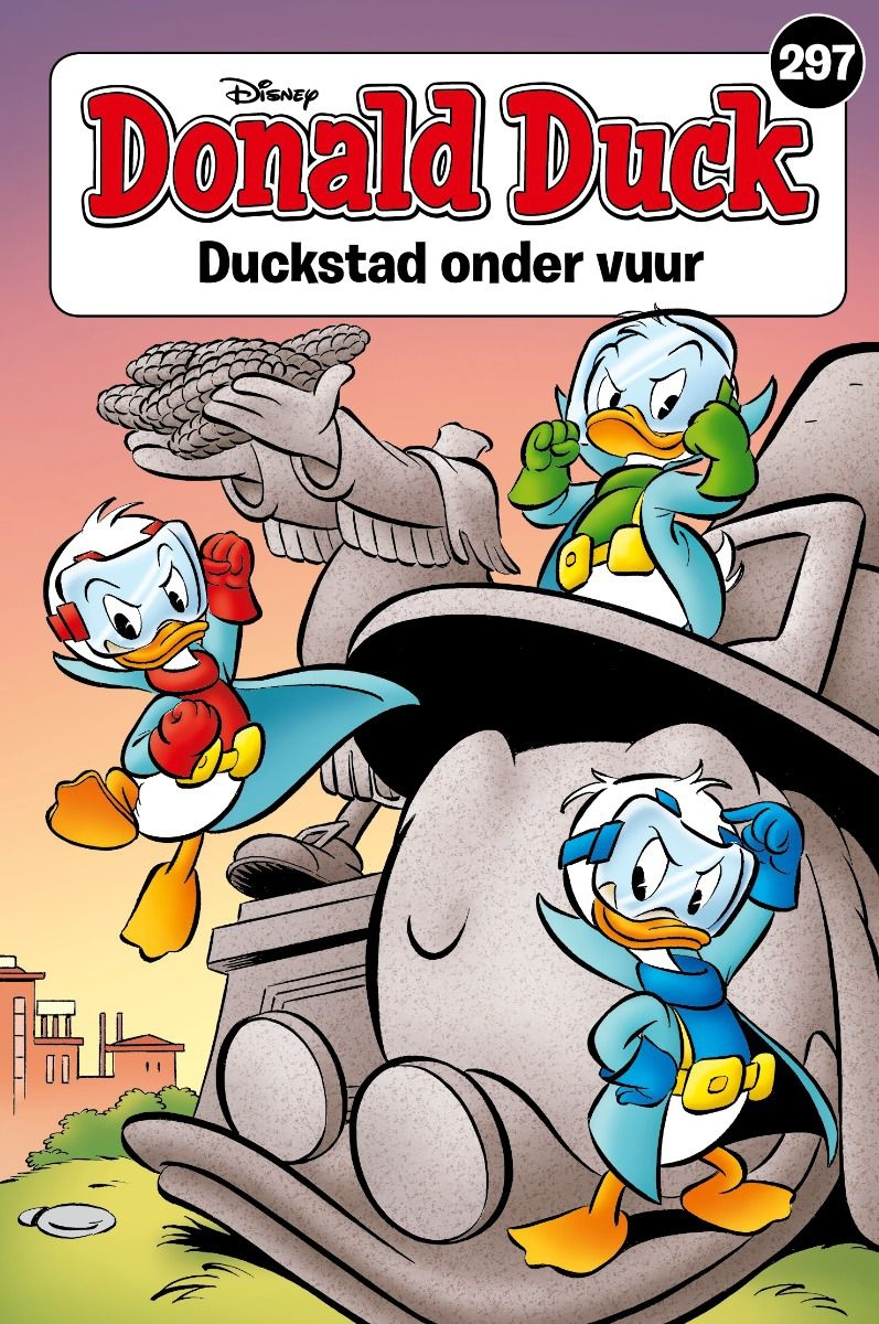 Donald Duck pocket softcover nummer: 297.