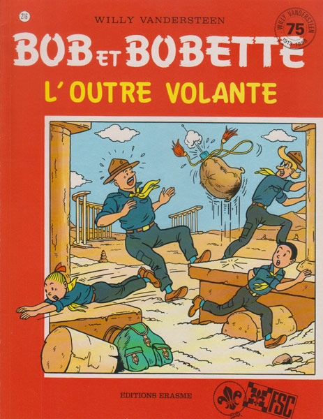 Franse softcover L´outre Volante, reclame uitgave FSC, 1988.