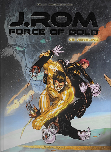 J.ROM Force of Gold, Hardcover, Nummer 3.