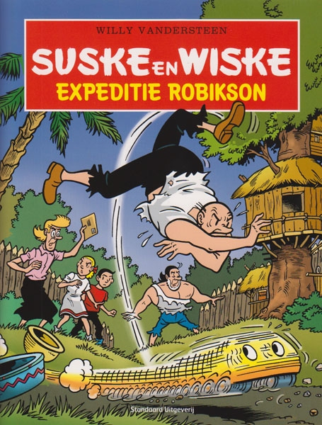 Suske en Wiske softcover Expeditie Robikson ABN-Amro.