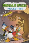 Donald Duck pocket softcover nummer: 154.