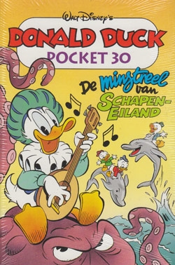 Donald Duck pocket softcover nummer: 30.