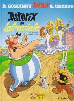 Asterix hardcover Asterix en Latraviata.