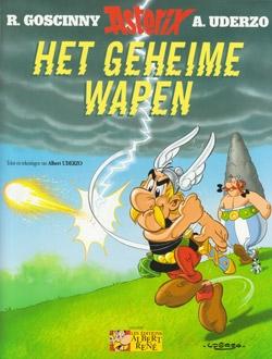 Asterix softcover, Het geheime wapen.