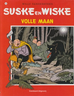 Suske en Wiske softcover nummer: 252. Oude cover.