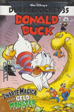 Donald Duck dubbelpocket softcover nummer: 35.