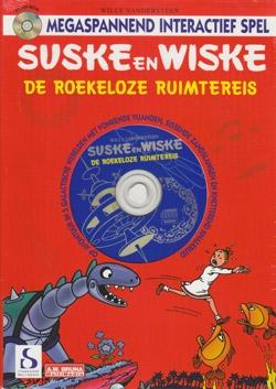 CD-ROM De Roekeloze ruimtereis (op kaart).