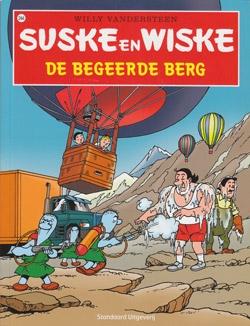 Suske en Wiske softcover nummer: 244. Hertekende cover.