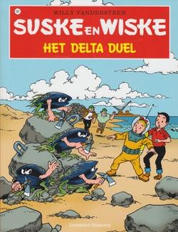 Suske en Wiske softcover nummer: 197. Hertekende cover.
