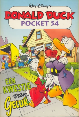 Donald Duck pocket softcover nummer: 54.