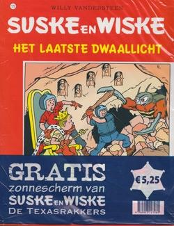 Suske en Wiske softcover nummer: 172 + Zonnescherm.
