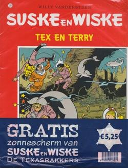 Suske en Wiske softcover nummer: 254 + Zonnescherm.