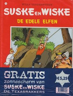 Suske en Wiske softcover nummer: 212 + Zonnescherm.