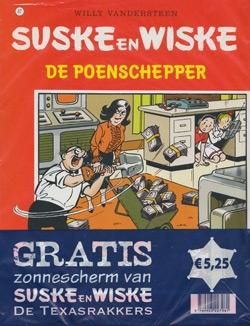 Suske en Wiske softcover nummer: 67 + Zonnescherm.
