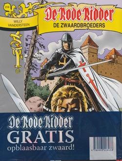De Rode Ridder softcover nummer: 219 + Zwaard.