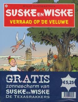 Suske en Wiske softcover nummer: 285 + Zonnescherm.