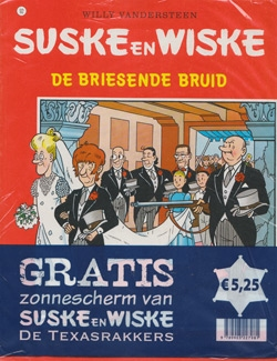Suske en Wiske softcover nummer: 92 + Zonnescherm.