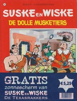 Suske en Wiske softcover nummer: 89 + Zonnescherm.