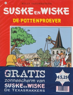 Suske en Wiske softcover nummer: 240 + Zonnescherm.