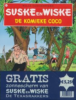 Suske en Wiske softcover nummer: 217 + Zonnescherm.