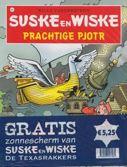 Suske en Wiske softcover nummer: 253 + Zonnescherm.