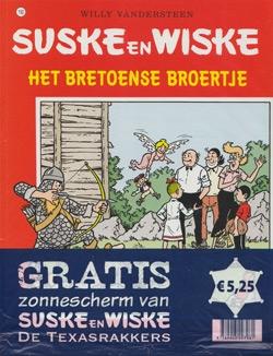 Suske en Wiske softcover nummer: 192 + Zonnescherm.