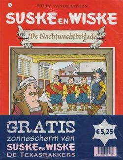 Suske en Wiske softcover nummer: 292 + Zonnescherm.